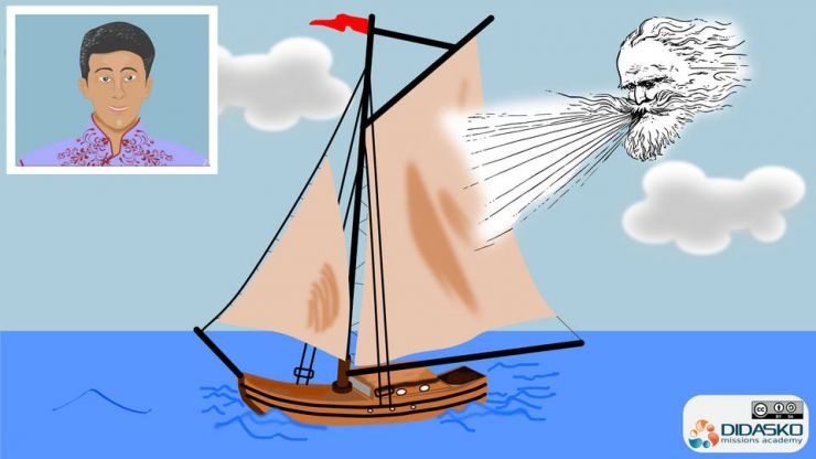 Missionary training is like rigging your boat's sails. The Holy Spirit blows it along well.